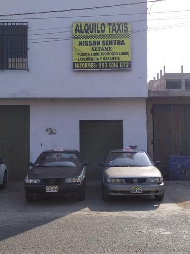 alquiler taxis nissan sentra v16