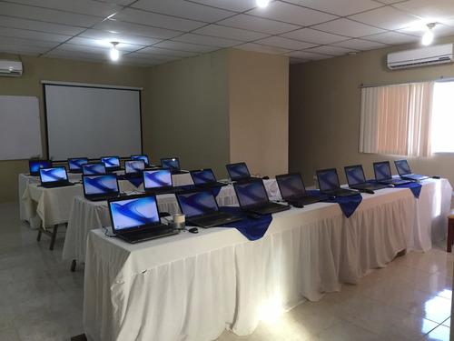 alquiler televisores computadoras, laptops, pantallas led