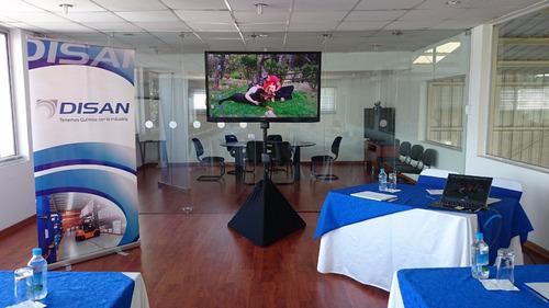 alquiler televisores led pantallas gigantes led computados