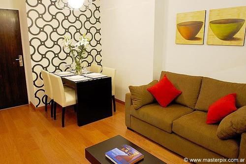 alquiler temporal dos ambientes  amenities  palermo