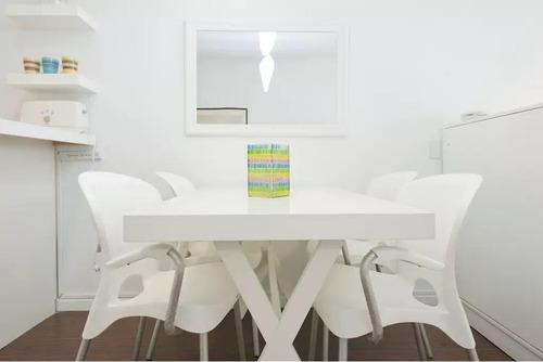alquiler temporal monoambiente equipado full amenities - recoleta