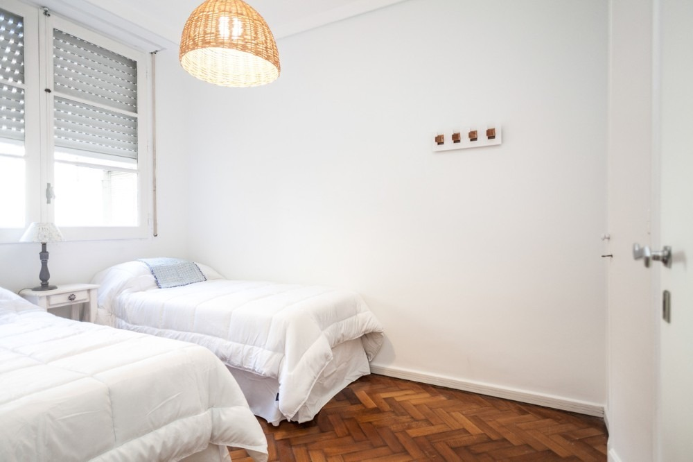 alquiler temporal recoleta 2 dormitorios 4 pax