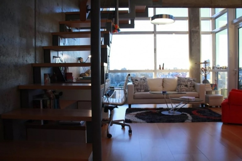 alquiler temporario 2 ambientes duplex, fitz roy 1900, palermo