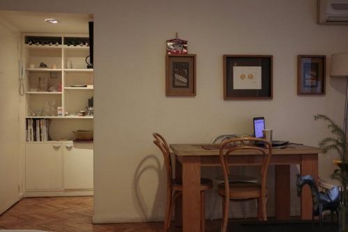 alquiler temporario 2 ambientes, libertador 2600, palermo