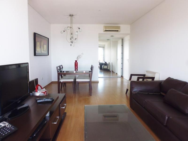 alquiler temporario - 3 ambientes en torre con amenities y seg. 24hs