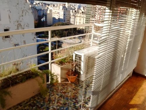alquiler temporario 3 ambientes san nicolas balcon