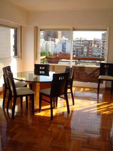alquiler temporario 4 ambientes palermo balcón las cañitas