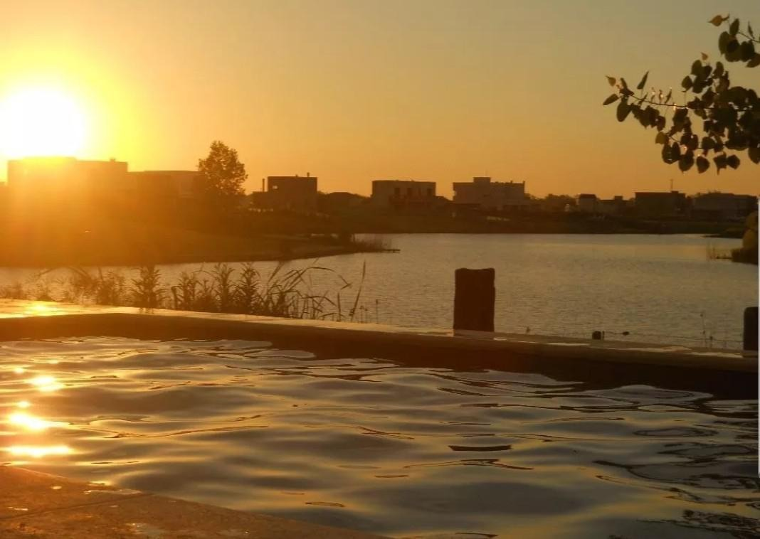 alquiler temporario 6 amb. con piscina a la laguna en bº san benito, villanueva tigre