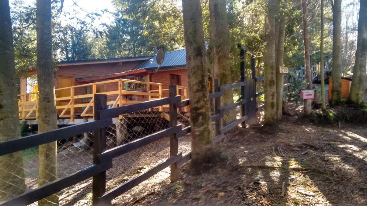 alquiler temporario cabaña en villa la angostura