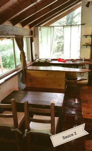alquiler temporario cabañas de madera villa gral. belgrano