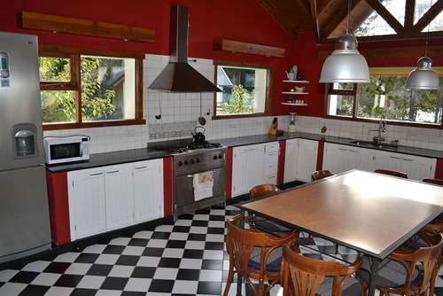 alquiler temporario casa bariloche 10 p. costa de lago