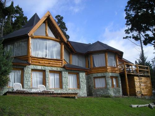 alquiler temporario  casa en bariloche vista al lago