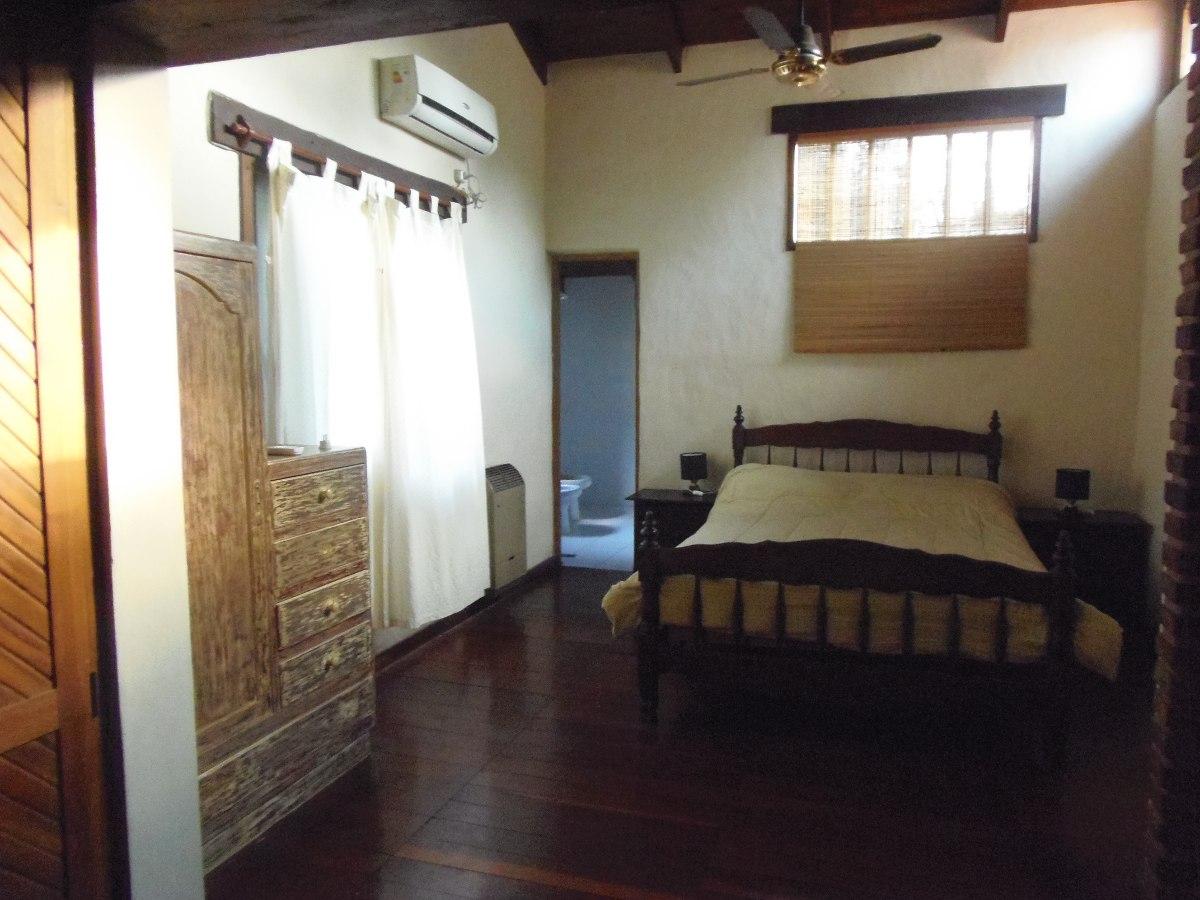 alquiler temporario casa, pileta 3 dormitorios funes dueño