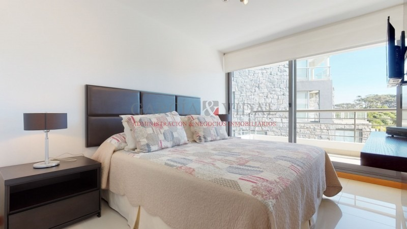 alquiler temporario de apartamento 3 dormitorios en playa brava - ref: 2086