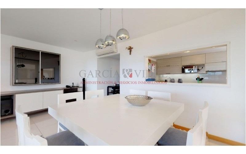 alquiler temporario de apartamento 3 dormitorios en playa brava- ref: 2156