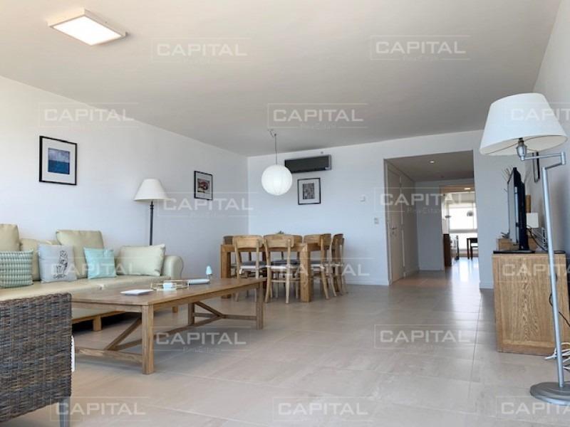 alquiler temporario de apartamento piso alto en torre le parc, playa brava, punta del este-ref:28478