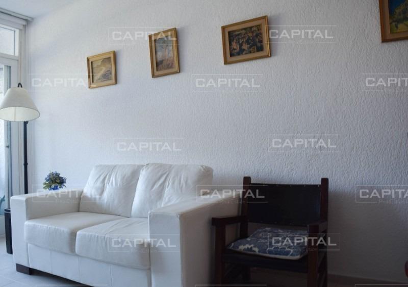 alquiler temporario de departamento de dos dormitorios a pasos de playa mansa-ref:28153