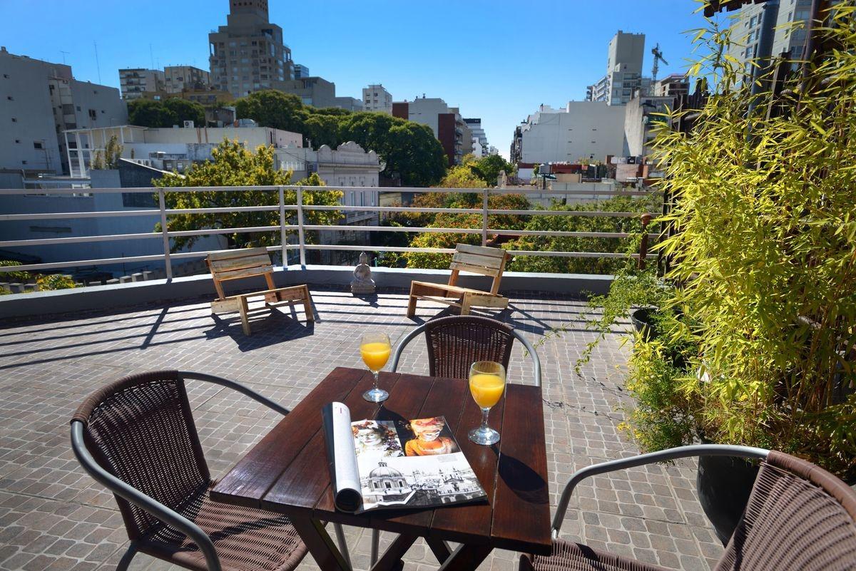 alquiler temporario palermo para  tres personas con terraza