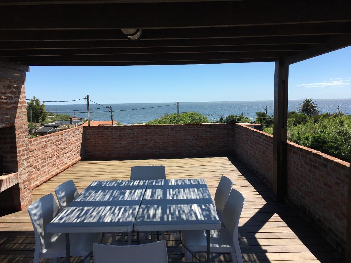 alquiler temporario punta colorada casa con vista al mar