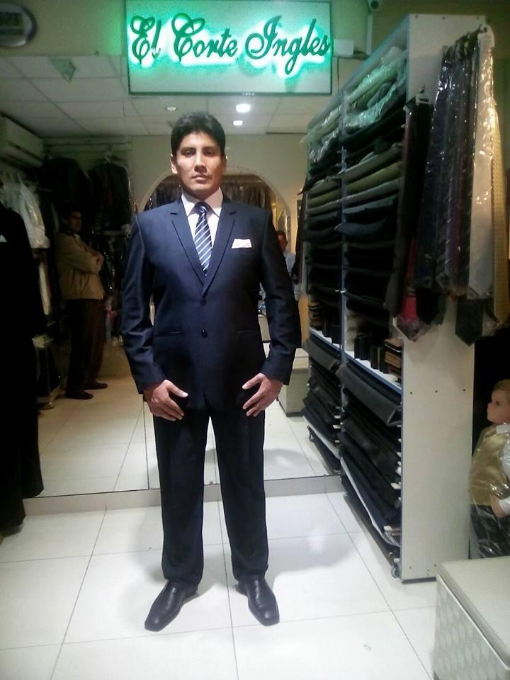 Alquiler Ternos Slim Fit Sastrería El Corte Ingles -4464575 - S  190 ... f8627af8254f