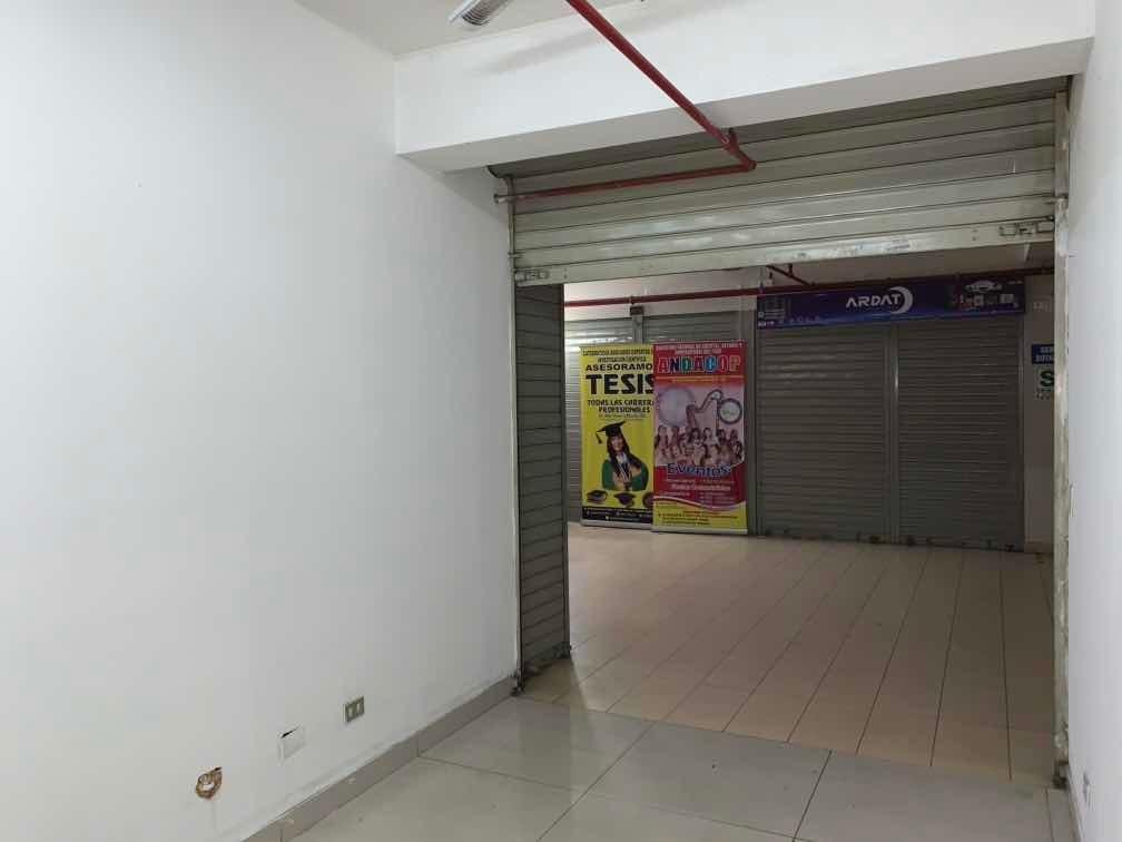 alquiler tienda 13 m2 + galería compu wilson