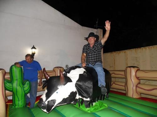 alquiler toro mecanico