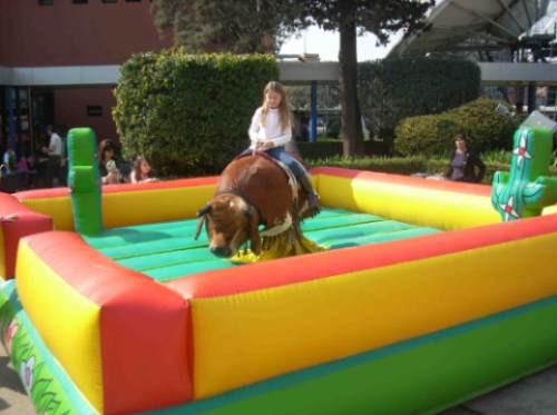 alquiler toro mecanico inflables