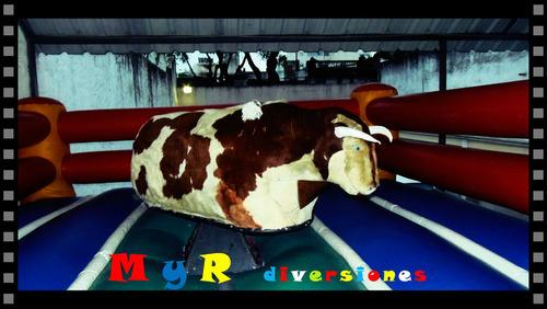 alquiler toro mecanico ( musica,fotos,copos gratis ) !!!