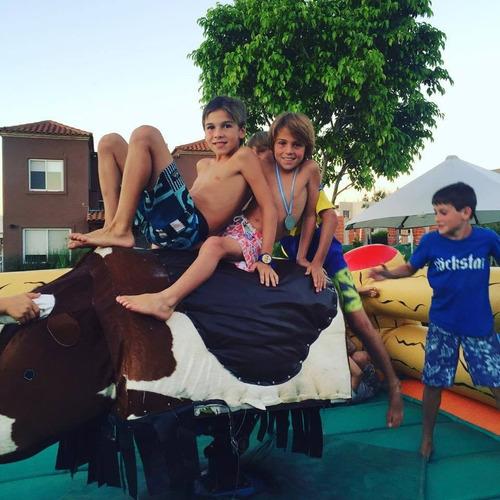 alquiler toro mecanico, reloj, samba, bunggy jumping
