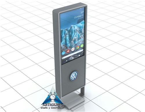 alquiler totems publicitarios, interactivos, pantallas touch