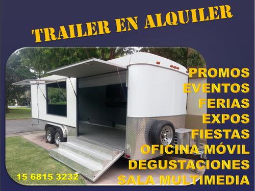 alquiler trailer eventos stand promocion publicidad ploteo