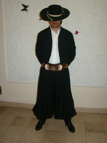 alquiler traje de gaucho hombre y ropa para danza folklorica
