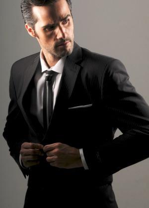 alquiler trajes hombres ambo etiqueta ottaviano - clasico