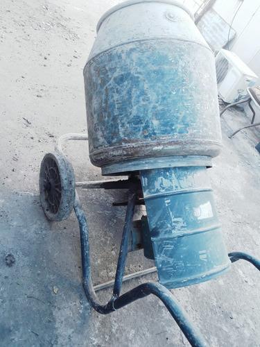 alquiler trompo mezclador 130 lts. motor 3/4 hp.