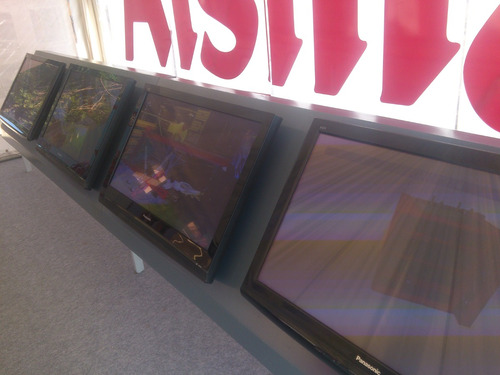 alquiler tv - plasmas - led con wi-fi - lcd  40  42  50  65