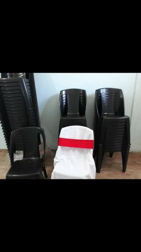 alquiler vajilla, manteleria, sillas