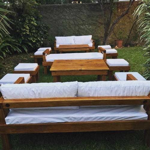 alquiler vajilla manteles mesas sillas livings zona norte
