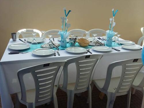 alquiler vajilla mesas sillas manteleria