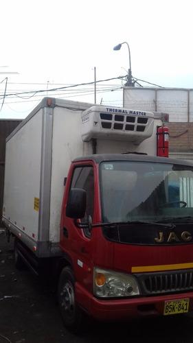 alquiler vehiculo frigorifico, carga refrigerada