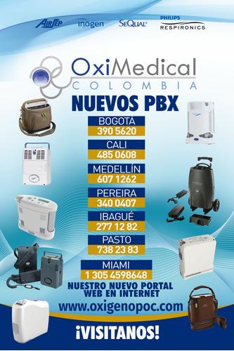 alquiler venta cpap apnea sueño philip oximedical bogota sur