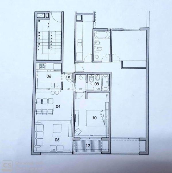 alquiler venta departamento 1 dormitorio en centro, la plata