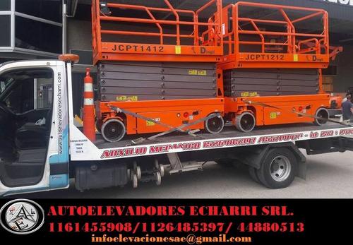 alquiler - venta plataforma elevadora - tijera 1161455908