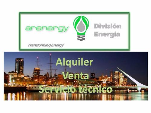 alquiler venta servicio tecnico grupo electrogeno generador