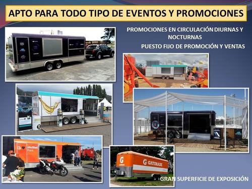 alquiler venta trailers eventos promocion publicidad movil