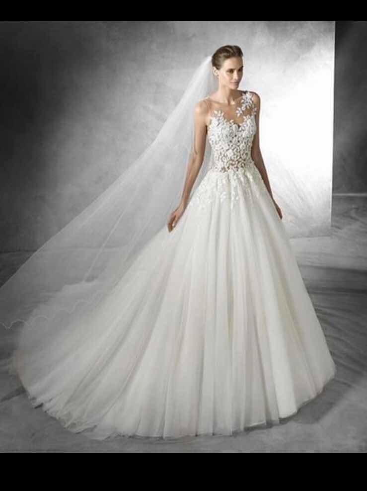 alquiler vestido de novia - pronovias - ¢ 300,000.00 en mercado libre