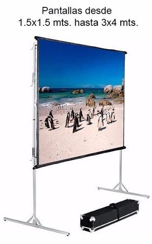 alquiler video beam  proyectores  portátiles  laptops sonido