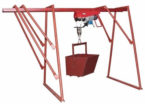 alquiler winche elevador de 500 kg