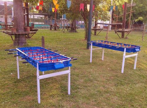 alquiler x24 hs metegol tejo pool ping pong sapo zona oeste