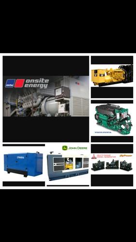 alquiler y mantenimiento de plantas y generadores electricos