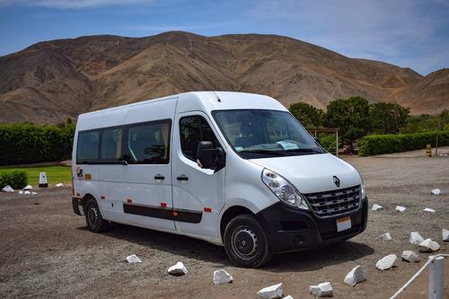 alquiler y traslados en van, minibus y bus en lima